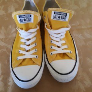 Converse All Star Sneakers in Sunny Yellow!